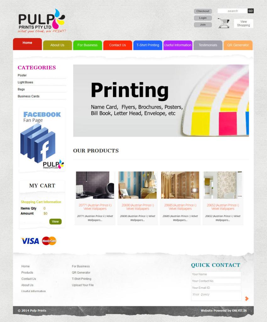 Pulp-Printings
